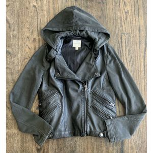 Urban Outfitter Silence Noise Vegan Leather Gray